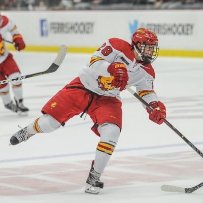 Jacob Hetz spent three years playing in the NAHL and one year in the NAPHL prior to his NCAA commitment and career at Ferris State.