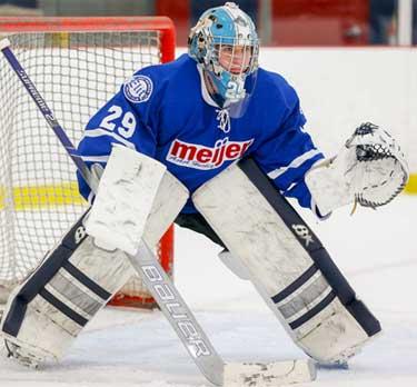 Meijer Aaa 16u Goalie O Gwen Signs Nahl Tender North American